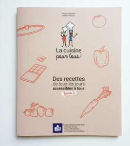 Livre de cuisine accessible FALC